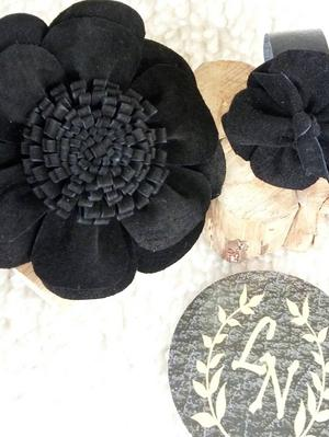 tic-tac floral e pulseira
