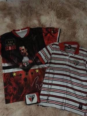 Camisa São Paulo FC, Blusa Polo São Paulo FC, Carteira e