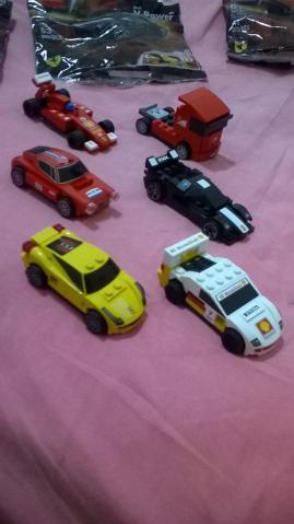 Coleção completa Ferrari Lego Shell V-Power