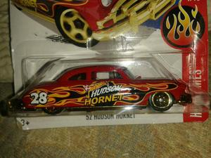 Miniatura 52 Hudson Hornet Hot Wheels