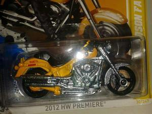 Miniatura Moto Harley Davidson Hot Wheels