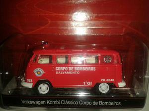 Miniatura VW Kombi Corpo de Bombeiros