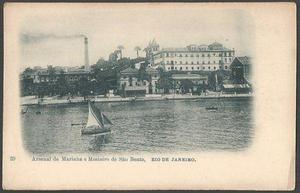Rio de Janeiro - Arsenal de Marinha e Mosteiro de São Bento