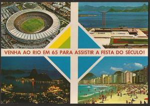Rio de Janeiro - IV Centenário do Rio de Janeiro - Cartão