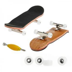 Skate fingerboard de Dedo Profissional Madeira c/ Rolamento