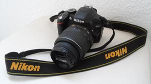 Câmera Nikon D com Kit de Lente mm VR II