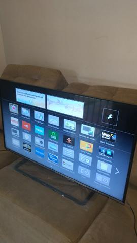 Smart tv led ultra fina ultra HD 4K de 43 polegadas marca