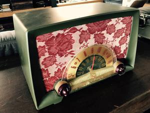 radio valvulado americano anos 50