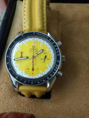 relógio marca Omega modelo spedmaster automático