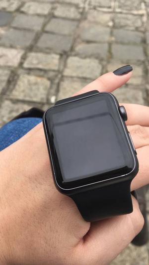 Apple Watch Series 1 com caixa e acessórios