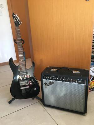 PRA VENDER! Guitarra LTD + Amplificador Fender