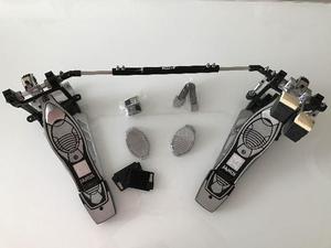 Pedal duplo bateria Mapex Janus Seminovo com acessórios e