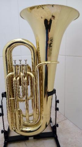 Tuba 3/4 Weril J370 - Sibemol, Laqueada, Lindaa /Parcelo
