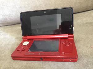 Console Nintendo 3ds Vermelho Usado Em Ótimo Estado