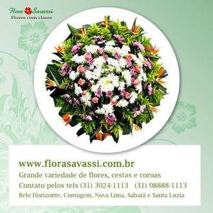 Entregas coroa de flores fúnebre em belo horizonte