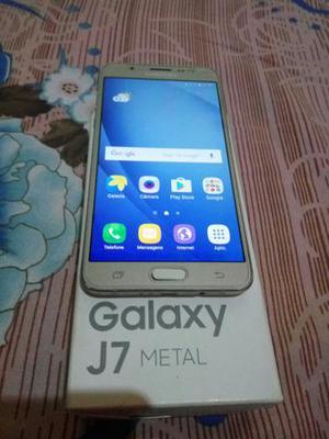 Galaxy J7 Metal Gold Zero na Caixa