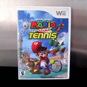 Mario Power Tennis Nintendo Wii e WiiU