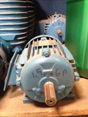 Motor de 1,5 cv 6 polos