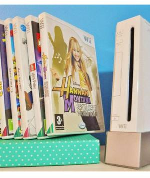 Nintendo Wii + acessorios + jogos