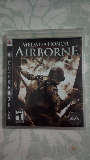 Ps3 Medal Of Honor AIRBORNE Jogo Raro!