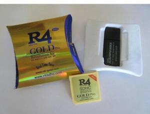 R4 Gold Pro  para Nintendo 3DS, 2DS, DSi, e Nintendo DS