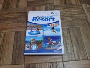 Wii sports resort original americano para wii