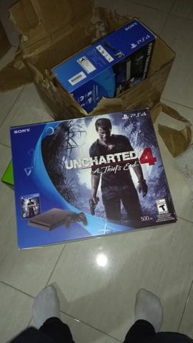 12x Ps4 SLlM Bundle Uncharted 4 PlayStation 4 promoção