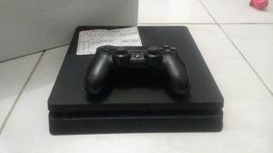 PS4 Ultra Slim 1 controle 1 jogo (aceito cartao)