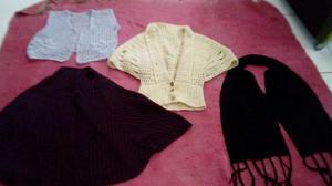 4 peças de roupa de frio 40 reais