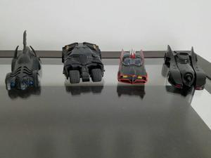 Coleção de Carrinhos do Batman Posto Shell. 4 Exemplares!