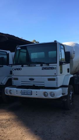 Ford cargo e betoneira liebheer -