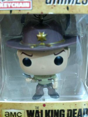 Funko Pop Pocket Keychain Rick Grimes The Walking Dead