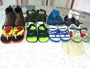 Lote de calçados de menino t 18