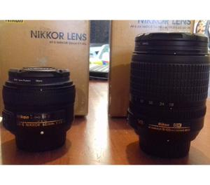 Nikon Dmm + 50mm 1.8G tudo como novo!