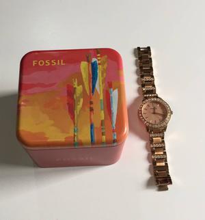Relógio Fossil Rose com Strass