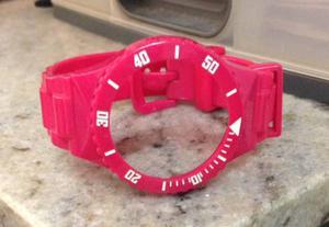 pulseira champion rosa escuro