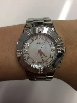 f0cf84959b7b7 Relógio Feminino Guess Lattice Analógico W1088l1 Cellshop