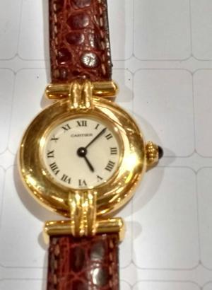 relógio marca Cartier modelo GOLGAR em ouro