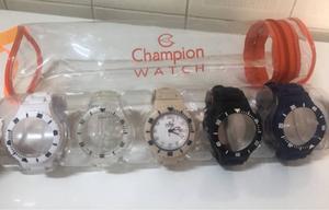 relógios troca-pulseira champion
