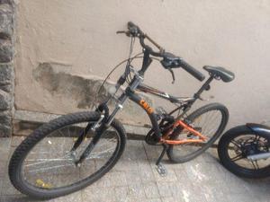Bicicleta caloi Aro 26 mtb xrt preto/laranja