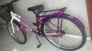 Vendo bicicleta feminina super conservada