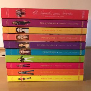 """coleção de livros """"pretty little liars"""""""