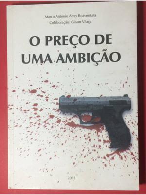 """livro """"o preço de uma ambição"""""""