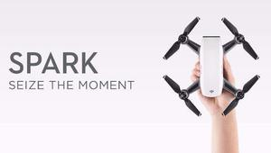 Drone dji spark lançamento kit sem rádio à pronta entrega