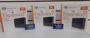 HDs Externos 3TB, 4TB e 5TB. Produtos Novos
