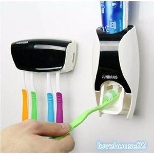 Kit porta pasta e escovas de dente automático