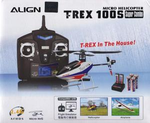 T-Rex 100 Helicoptero Align 4ch 2.4ghz