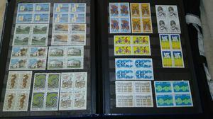 Coleção de selos antigos