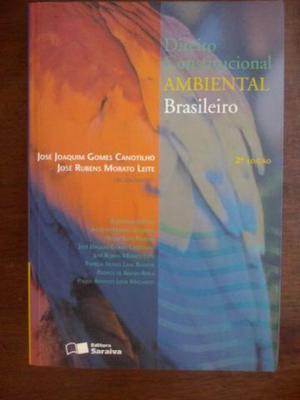 01 livro de Direito Ambiental + Sinopse Jurídica de Direito
