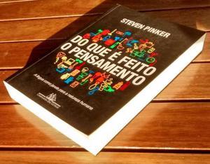Livro Do que é feito o Pensamento - Steven Pinker